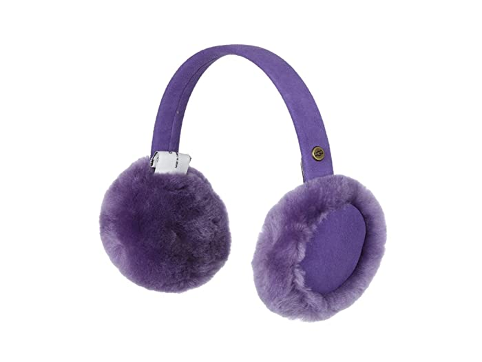 UGG Kids  Classic Sheepskin Earmuff (Toddler/Little Kids) (Violet Bloom) Knit Hats