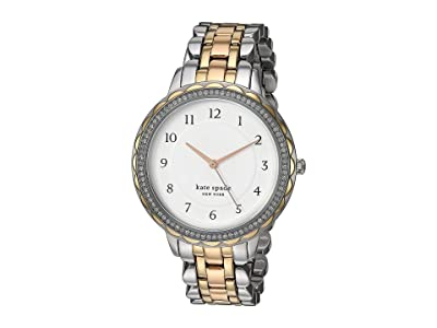 Kate Spade New York Morningside Stainless Steel Watch KSW1571 (Tri-Tone Silver/Gold/Rose Gold) Watches