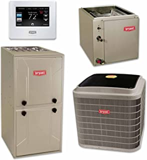 Payne 3 ton 14 SEER Air Conditioner, Indoor Coil and 80% BTU Furnacew