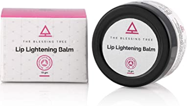 The Blessing Tree Lip Lightening Balm with Shea Butter, Strawberry and Sunflower Oil - 15gm