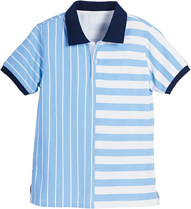 Beachcombers Boys Scuba Stripe Polo Apparel