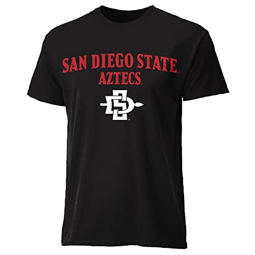 Scarlet Large NCAA San Diego State Aztecs Mens Shift Polo