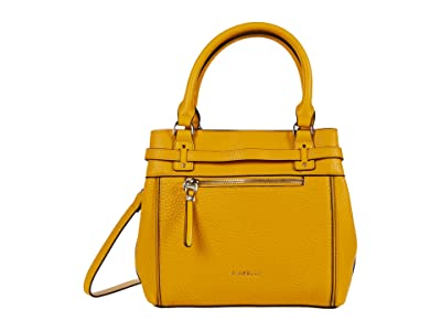 Fiorelli Freddie Small Satchel (Yellow) Handbags