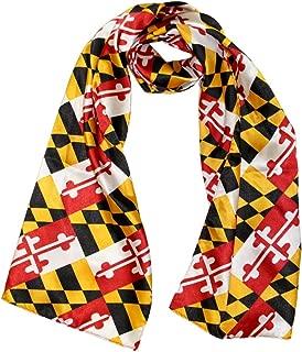 maryland flag silk scarf
