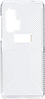 Speck Products Presidio Perfect-Clear with Grip Motorola Edge+ Case, Clear/Clear (136784-5085)