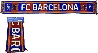 Gebreide sjaal nr. 27 FC Barcelona 1899 - gelicentieerd product - 100% acryl - afmetingen 140 x 20 cm.