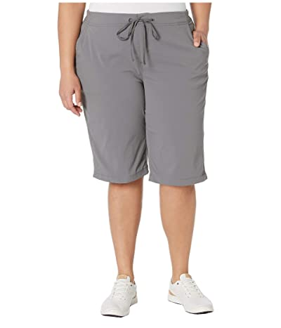 Columbia Plus Size Anytime Outdoortm Long Short (City Grey) Women