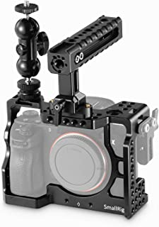 SMALLRIG A7RIII Cage Kit Rig for Sony A7RIII,A7III Camera with Top Handle, Ball Head - 2103