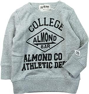 《秋冬春对应》 ALMOND BAR(Amundber) 毛圈布 COLLEGE印刷运动衫 NO.AH-83405 [対象] 48ヶ月 ~ MG 100