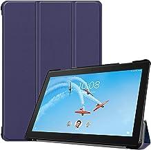 XINKOE Case For Lenovo Tab P10 TB-X705,Premium Quality PU Leather Case Slim Flip Shell Case for Lenovo Tab P10 TB-X705 -Blue
