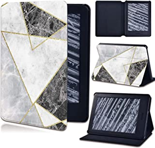 for Amazon Kindle 8/10 Paperwhite 1 2 3 4 - Pu Leather Stand Tablet Cover Case for Kindle Geometric Patterns