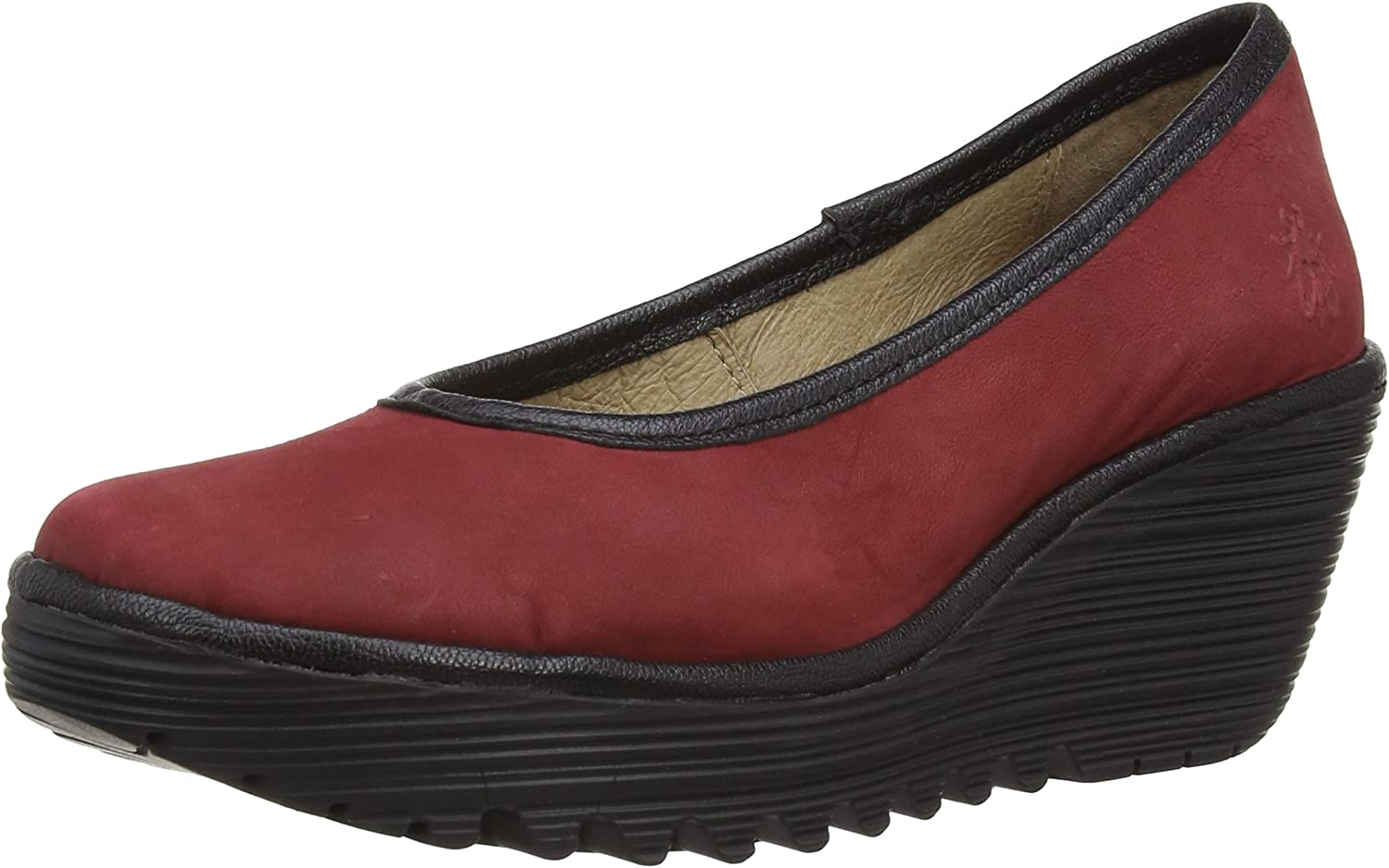 Womens Court Shoes Fly London Yalu Cupido//Mousse