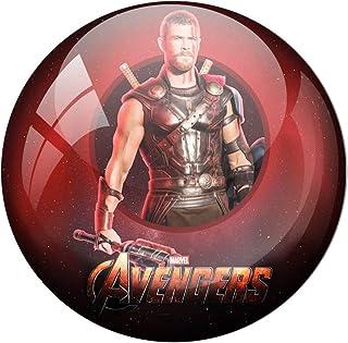 AVI Fridge Magnet with Red Colour Avengers Endgame s Thor 58mm Metal Regular Size 58mm MR8000376