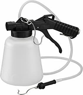 ARES 70923-1-Liter Vacuum Brake Fluid Bleeder – Hanging Hook and Locking Trigger..