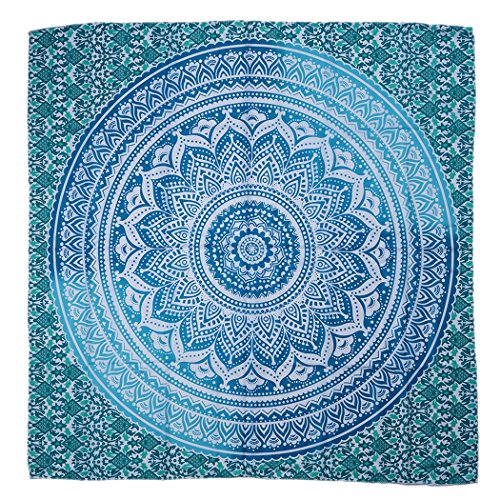 Outgeek Manta de la Playa, Mandala de Impreso Cuadrado Impreso Picnic Tapicería Toalla de Playa Shawl