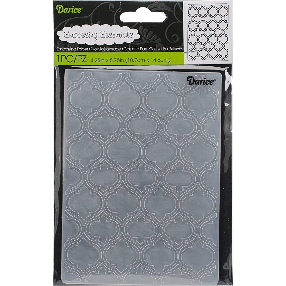 Darice Embossing Folder, 4.25 x 5.75