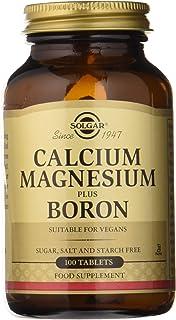 Solgar Calcio y Magnesio con Boro Comprimidos - Envase de