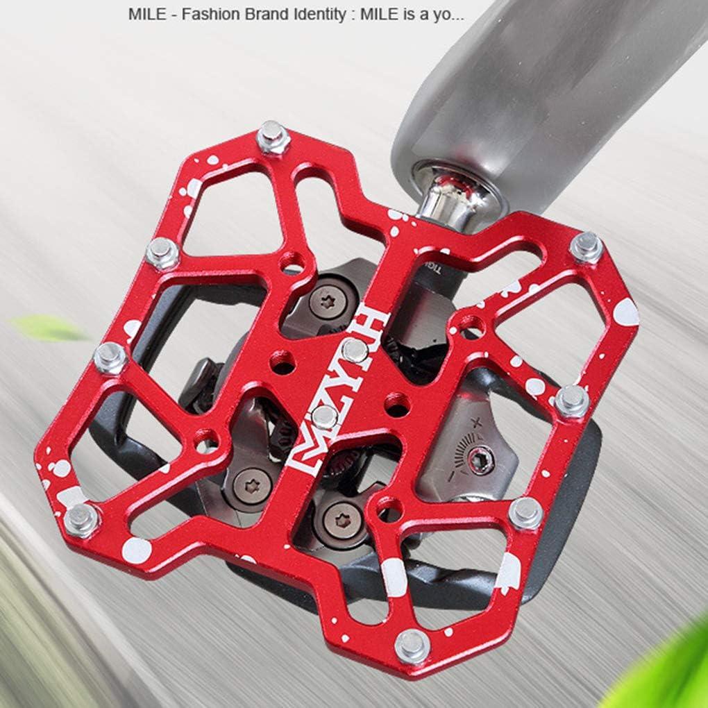 Patpan 1 par de Bicicletas de monta/ña Universal Autom/áticos Pedal Plataforma adaptadores Bici del Camino de Las Grapas de aleaci/ón de Aluminio