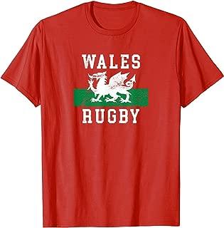 Wales Rugby Shirt - Dragon Flag TShirt