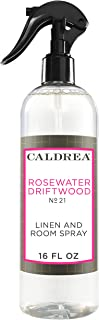 Caldrea Linen and Room Spray, Rosewater Driftwood, 16 oz
