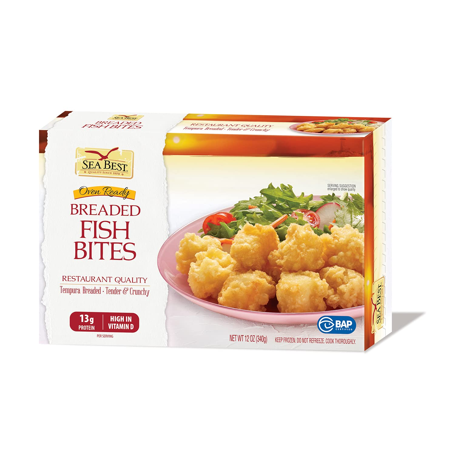 Sea Best Breaded Tilapia Bites In stock of New products world's highest quality popular Pack 12 Ounce