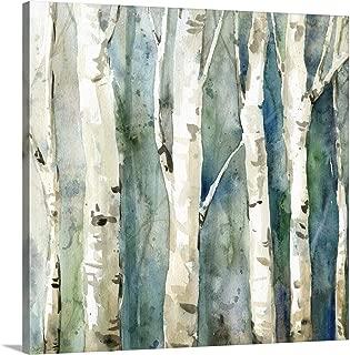 River Birch II Canvas Wall Art Print, 36