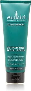 Sukin Super Greens Detoxifying Facial Scrub 4 23 fl oz 125 ml