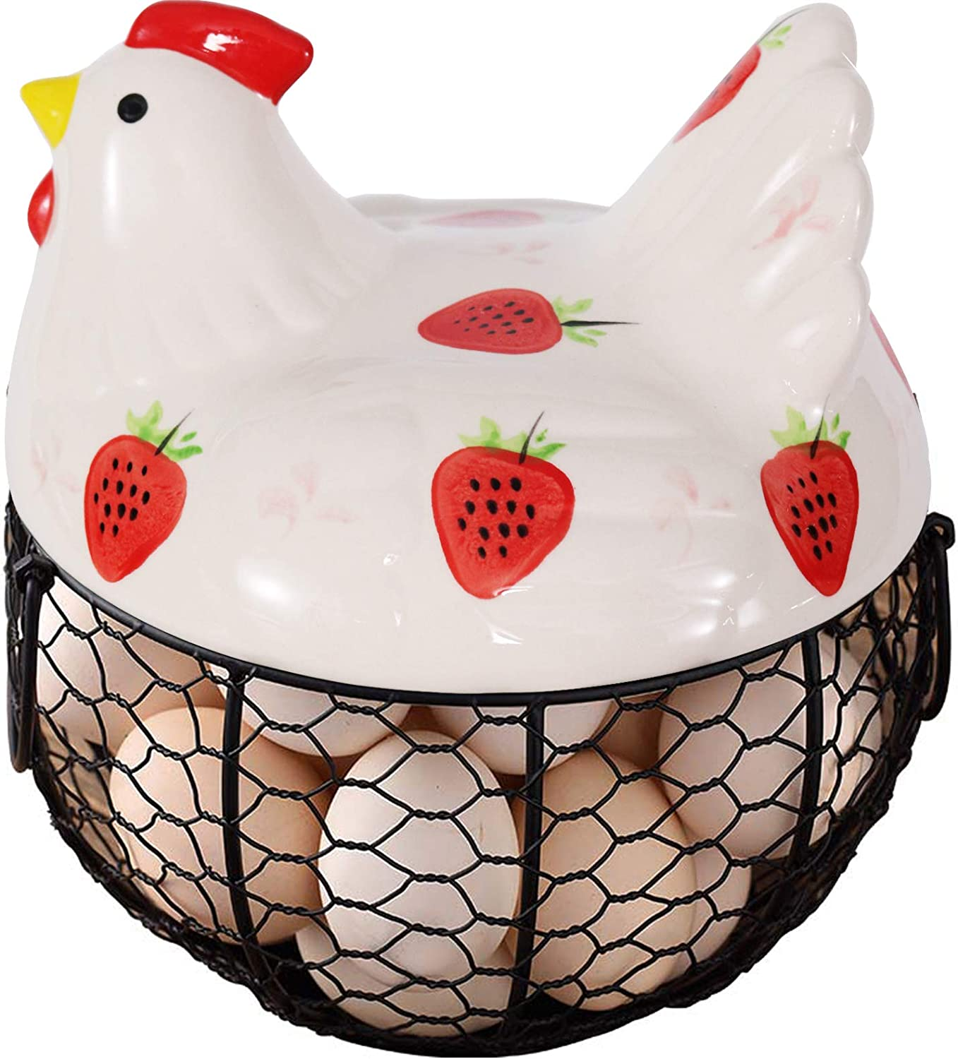 Egg Baskets Challenge the lowest price for Fresh Eggs Super popular specialty store ho fresh Chicken Ceramic