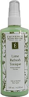 Eminence Organic Skincare Lime refresh tonique 4.2oz, 4.2 Ounce