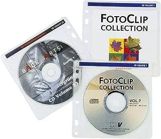 Hama CD-ROM Pockets 80 - Funda (Color Blanco)