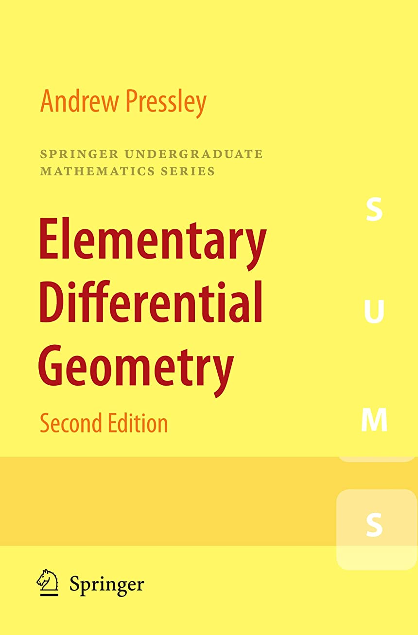 テクニカルジョイント重さElementary Differential Geometry (Springer Undergraduate Mathematics Series) (English Edition)