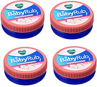 Pack of 4 - Babyrub Vicks Comfort for Babies