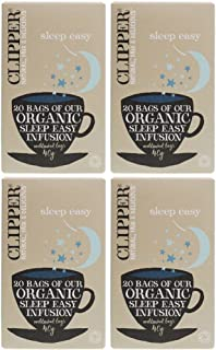(4 PACK) - Clipper - Organic Sleep Easy | 20 Bag | 4 PACK BUNDLE