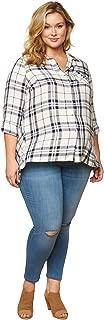 Women's Indigo Blue Stretch Secret Fit Belly Ankle Denim Jegging