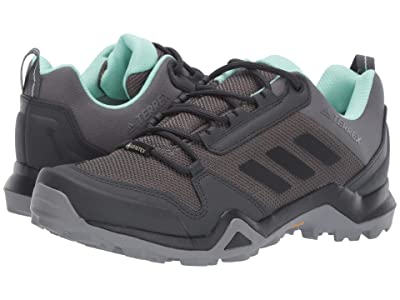 adidas Outdoor Terrex AX3 GTX(r) (Grey Five/Black/Clear Mint) Women
