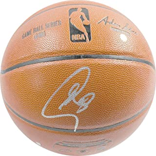 2269d6cf684 Stephen Curry Golden State Warriors Signed Autograph NBA Game Basketball  Steiner Sports Certified