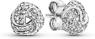 Pandora Women Silver Stud Earrings - 290696CZ