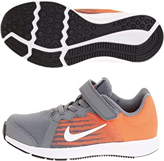 Kids Nike Boys Downshifter8 Low Top Lace Up Running Sneaker