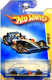 Hot Wheels 2009-030 New Models F1 Racer BLUE 1:64 Scale