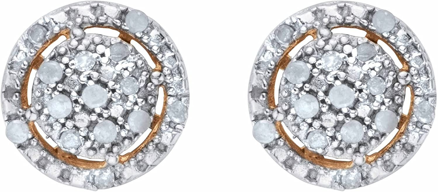 18K Yellow Gold 公式 or Platinum Sterling オンライン限定商品 Silver Genuine Plated Round