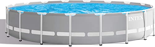 new arrival Intex online 26731EH 18ft X 48in Prism Frame Pool high quality Set, Light Grey sale