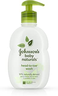 Johnson's Baby Natural Head-to-Toe Wash - 9 oz