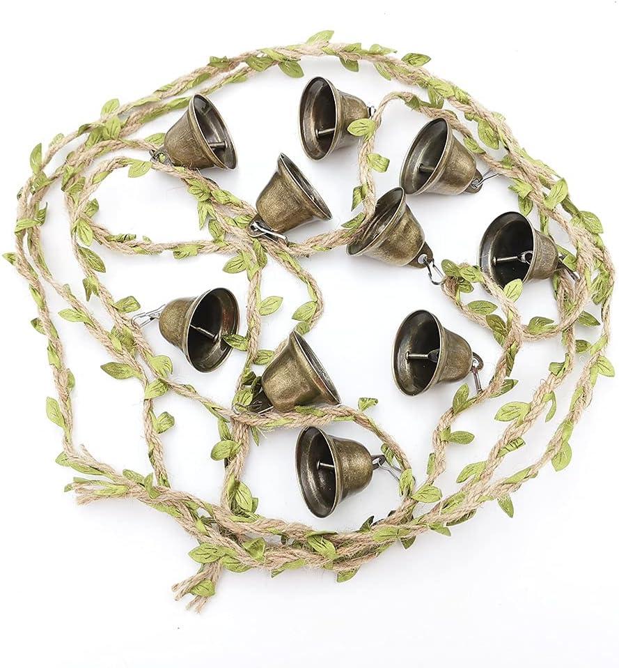 10Pcs 1.5inch specialty shop Vintage Jingle Bells with Hoo Decorative New life DIY