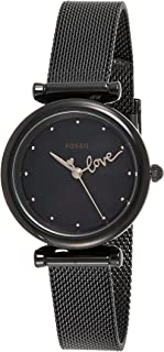 Fossil Casual Ladies Wrist Watch, Black