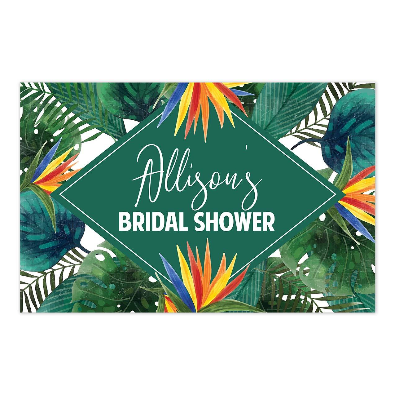 Tropical Watercolor Bridal Shower Placemat Table De Personalized Surprise price OFFer
