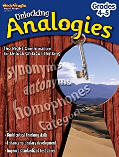 Unlocking Analogies Reproducible Grades 4-5