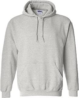18500 - Classic Fit Adult Hooded Sweatshirt Heavy Blend - First Quality - Ash Grey - Medium