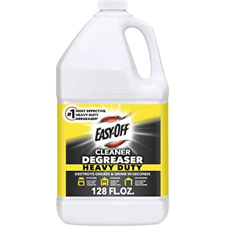 Easy Off Heavy Duty Degreaser-Cleaner, 128 Ounce