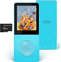 $23 » Mp3 Player, Hotechs Hi-Fi Sound, with FM Radio, Recording Function Build-in Speaker Expandable Up to 64GB with Noise Isola...