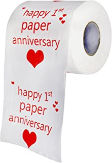 Best first anniversary toilet paper Reviews